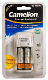 BC-1021C Overnight Charger incl. batteries