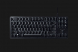 Razer BLACKWIDOW LITE (Orange Switch) Silent Mechanical Gaming Keyboard