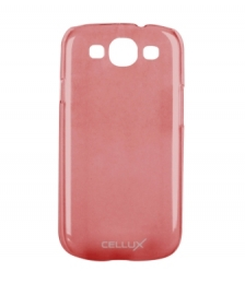 Back Case - Galaxy S III, frosted-red