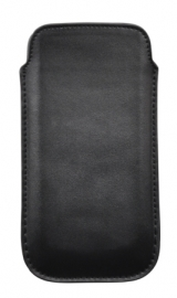 PU Leather Pouch - ML, black