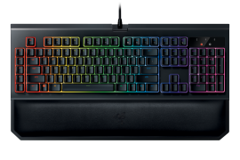 Razer BLACKWIDOW CHROMA V2 (Green Switch) Gaming Keyboard, US la