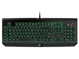 Razer BLACKWIDOW ULTIMATE 2016 Stealth Ed., US layout