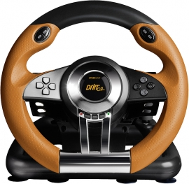 SL-4495-BKOR BKOR DRIFT O.Z. Racing Wheel, black-orange