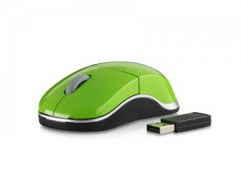 SL-6152-SGN Snappy Smart Wireless USB Mouse, green