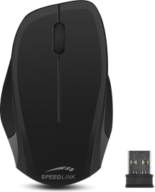 SL-630000-BKBK LEDGY Mouse - wireless, black-black