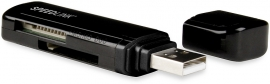 SL-7421-BK-01 NOBILÉ Portable Card Reader 32-in-1, black