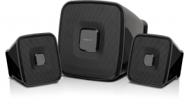 SL-8204-BK QUAINT 2.1 Subwoofer System, black