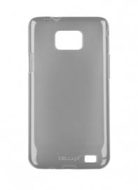 TPU Back Case - Galaxy S II, frosted-black