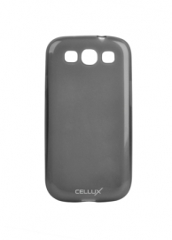 TPU Back Case - Galaxy S III, frosted-black