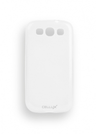 TPU Back Case - Galaxy S III, frosted-clear