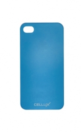 Ultra-Thin Back Case - iPhone 4/4S, frosted-blue