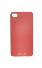 Ultra-Thin Back Case - iPhone 4/4S, frosted-red
