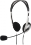 SL-8720-SV MAIA Stereo Headset, black-silver